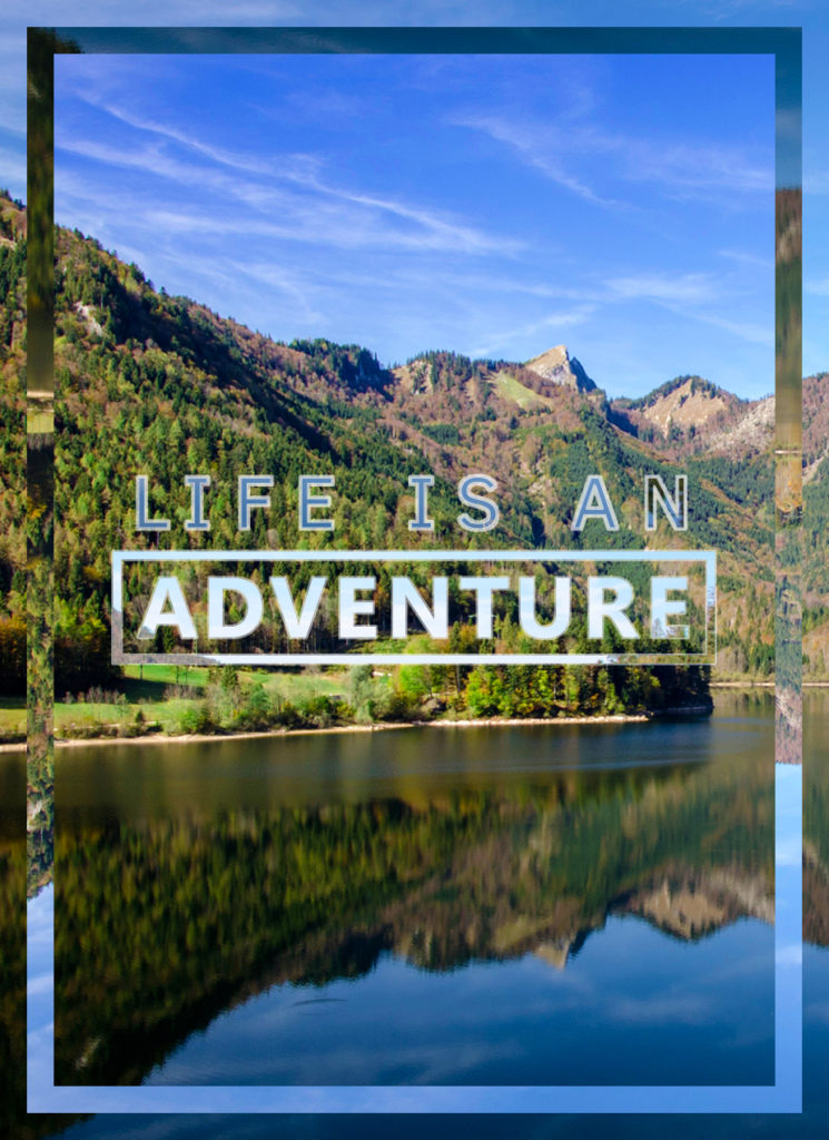 Life Is An Adventure photo collage